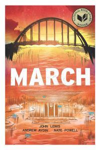 March trilogy political comics