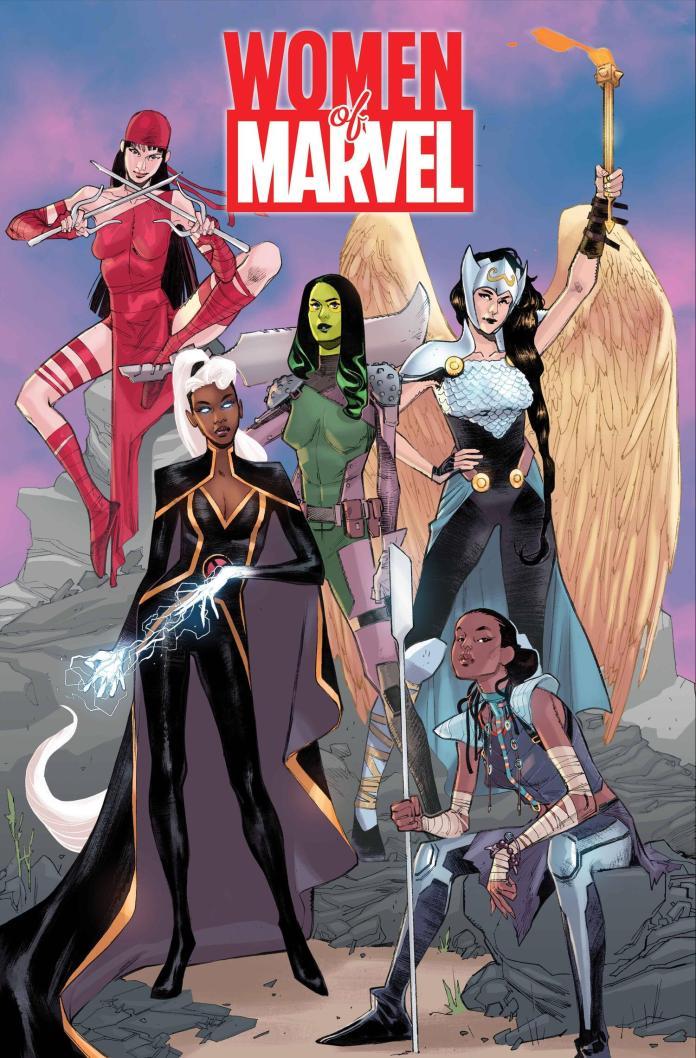 women of marvel cover pichelli