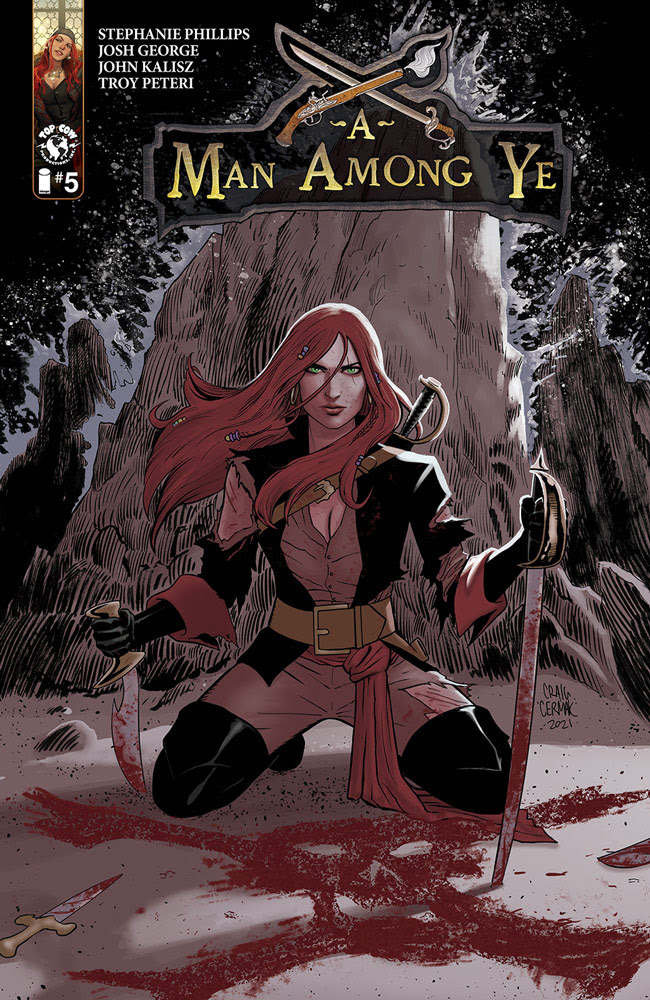 A Man Among Ye #5 Cover