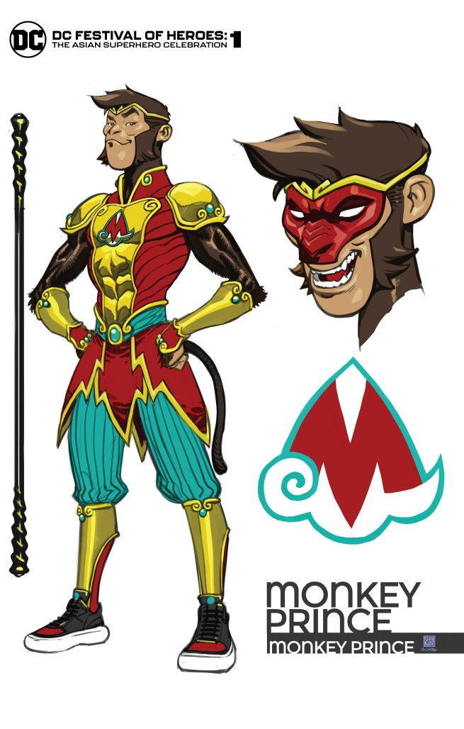 DC Festival of Heroes Monkey Prince Variant Cover