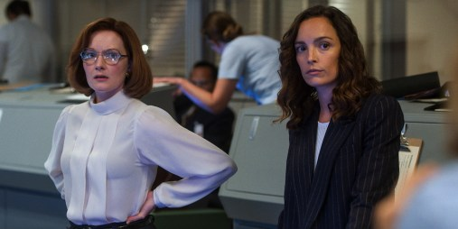 "Margo Madison (Wrenn Schmidt) and Ellen Wilson (Jodi Balfour) are still in charge in ""The Grey"""