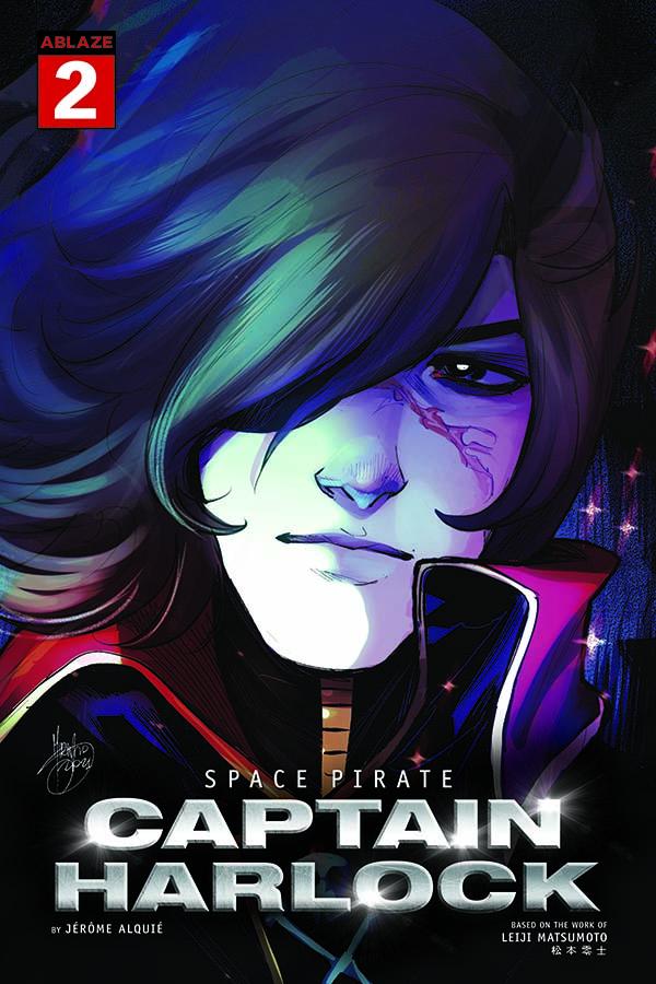 Space Pirate Captain Harlock Issue 2 Variant Mirka Andolfo