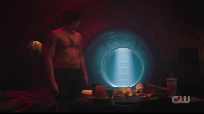 Step away form the light, Jughead. Riverdale's hatch