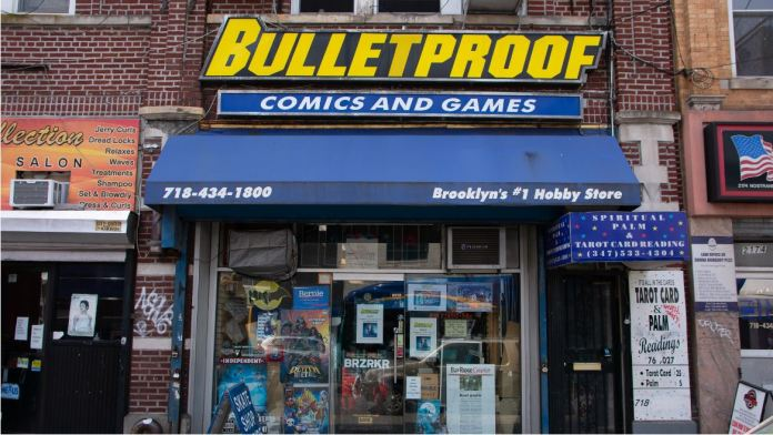 Bulletproof Comics