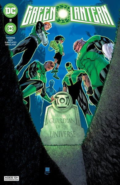 Green Lantern #2 cover