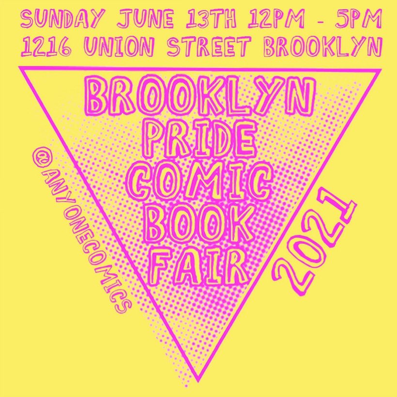 Brooklyn Pride Comic Book Fair