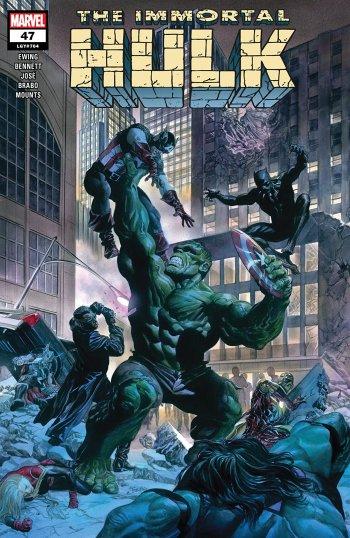 Immortal Hulk #47 Cover