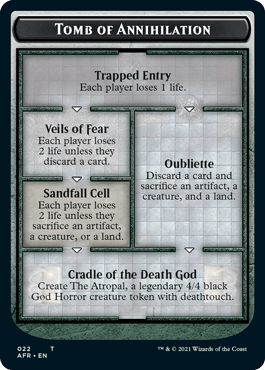 Tomb of Annihilation from Magic the Gathering Adventures in the Forgotten Realms expansion