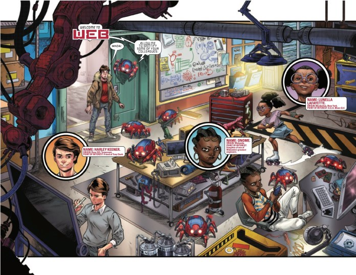 Pages From W.E.B. of Spider-Man #1