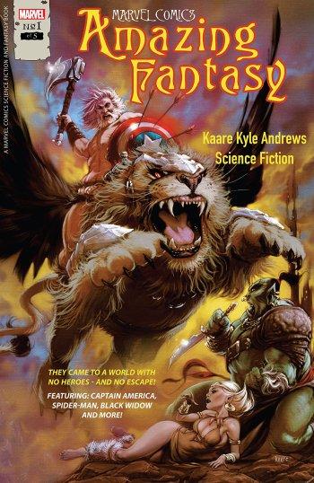 Amazing Fantasy #1 Cover