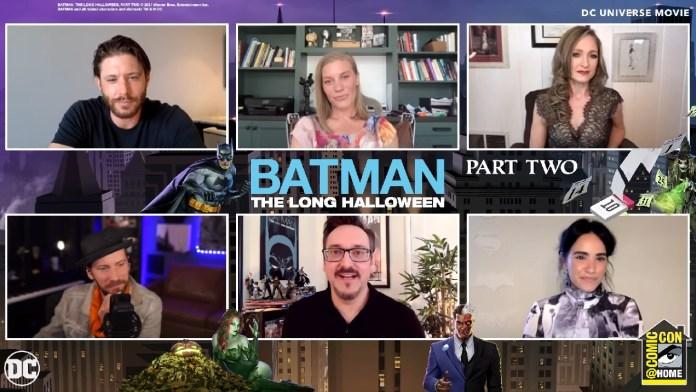 Batman The Long Halloween panel