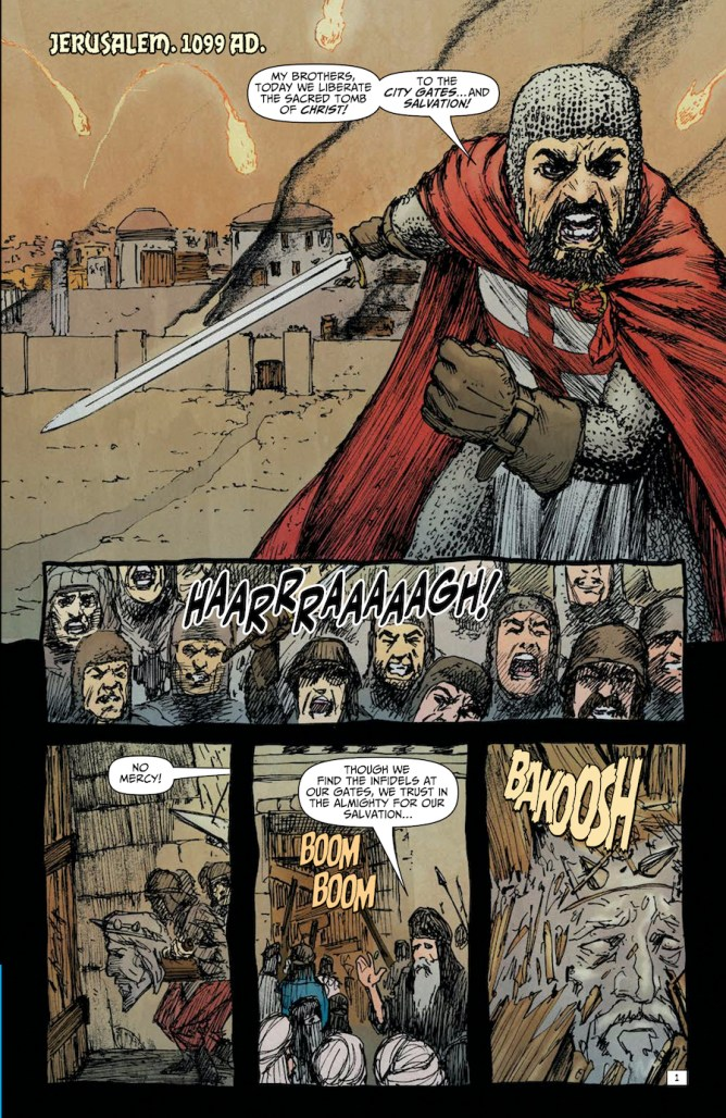 Second Coming Only Begotten Son #3 Page 1