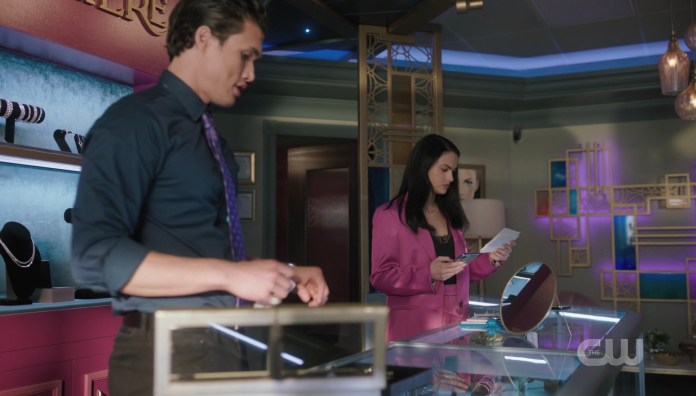 Veronica's Riverdale jewelry store has a new employee: Reggie Mantle