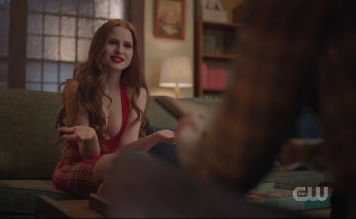 Cheryl, please look up the Riverdale High dress code