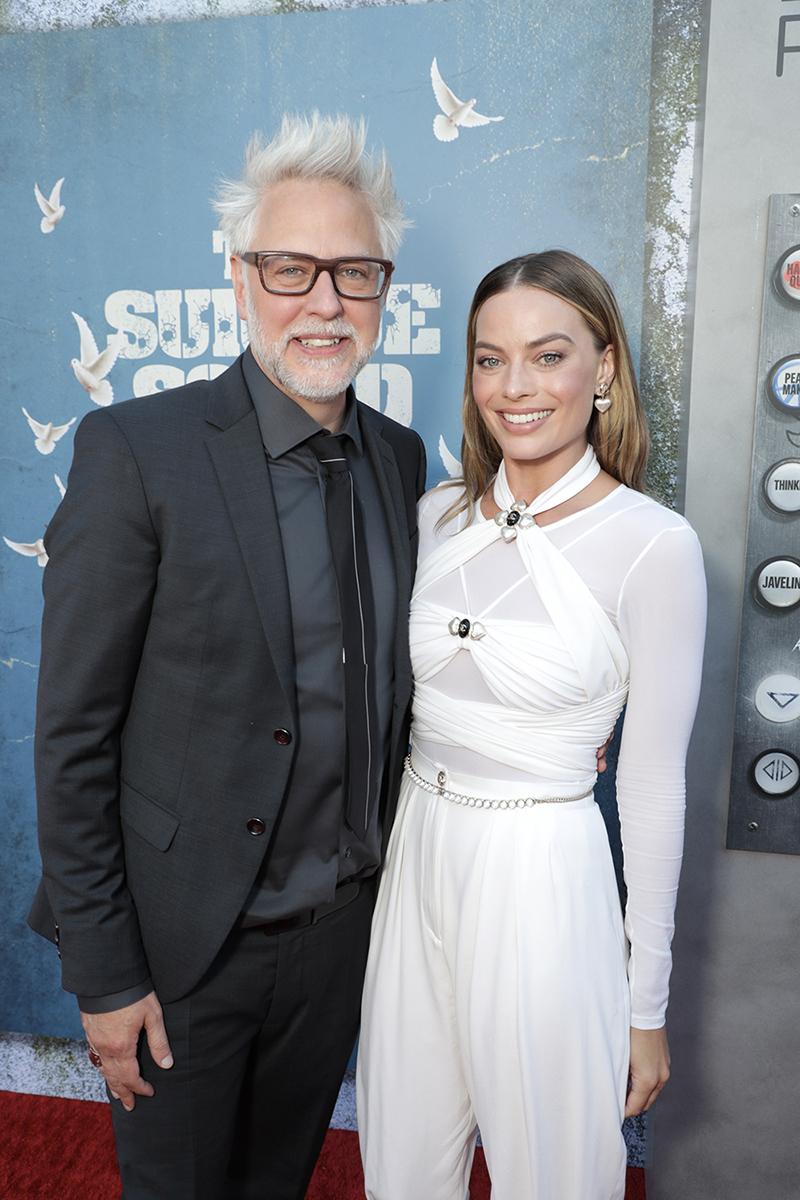 The Suicide Squad James Gunn & Margot Robbie