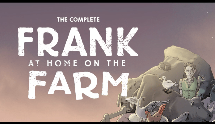frank at home on the farm