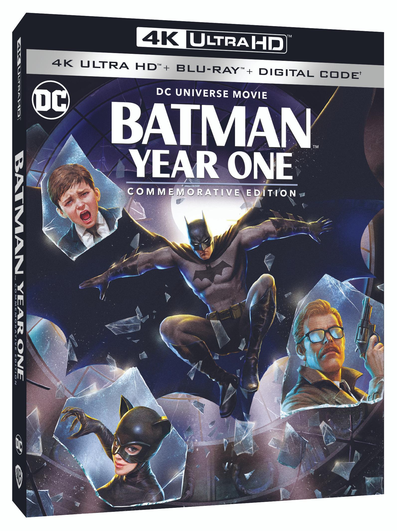 Batman Year One animated
