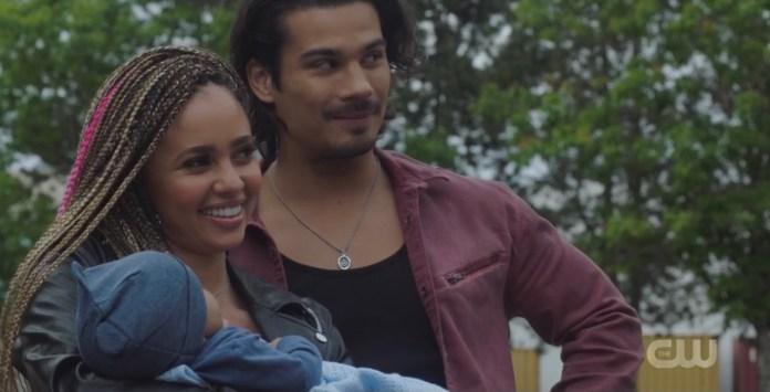 Toni's new baby Tony makes his Riverdale debut