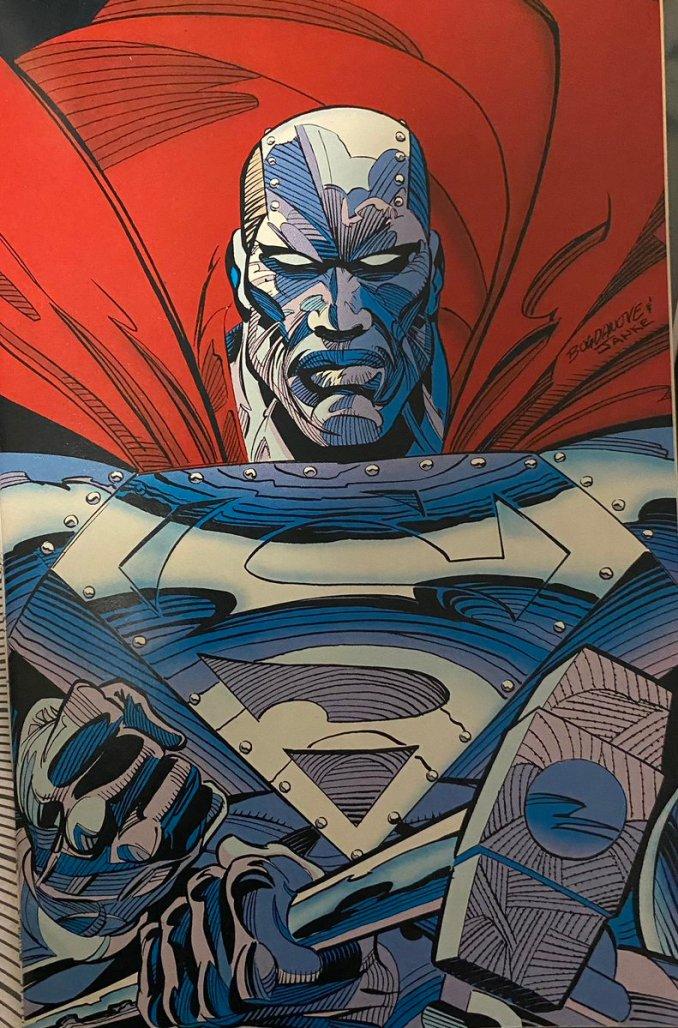 Man of Steel #22 inner cover