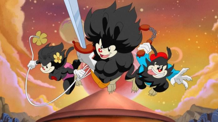 Animaniacs Season 2 panel
