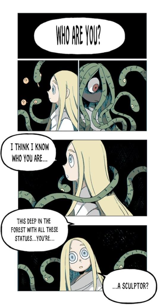 Medusa and the Blind Priestess
