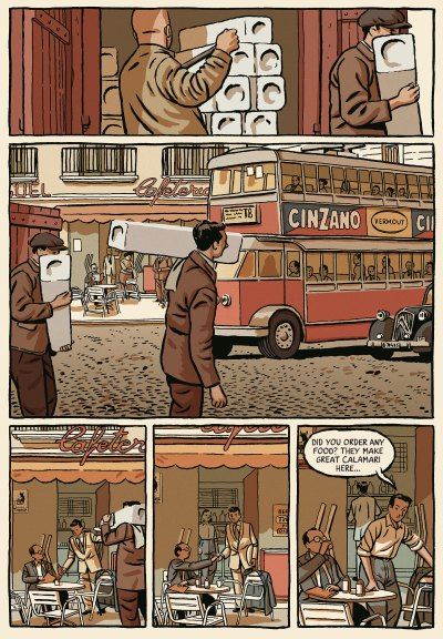 Winter of the Cartoonist Paco Roca page 18