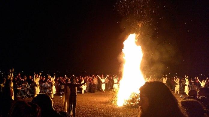 Beltane fire festival 2019