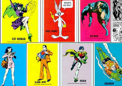 DC Comics Trading Card