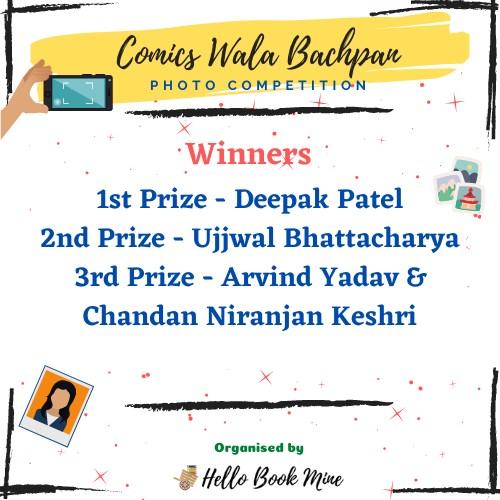 Hello Book Mine - Comics Wala Bachpan - Winners