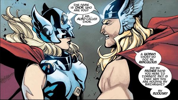 थॉर और जेन मार्वल कॉमिक्स Thor: Love & Thunder