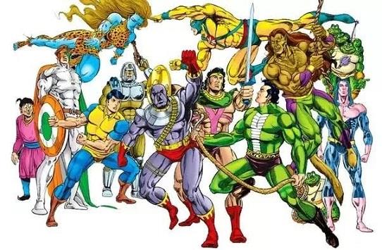 Raj Comics All Heroes