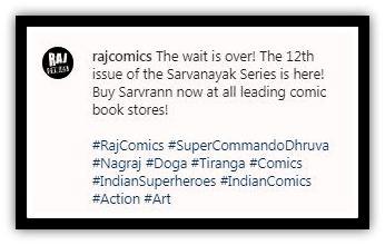 Raj Comics - Sarvran - Sarvnayak Series