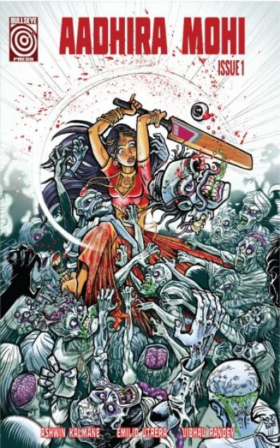 Adhira Mohi - Bhaji Of The Dead - English Cover - Bullseye Press