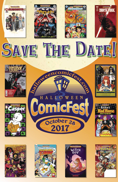 Comics, Cards & Collectables » Only 19 Days Until Halloween ComicFest