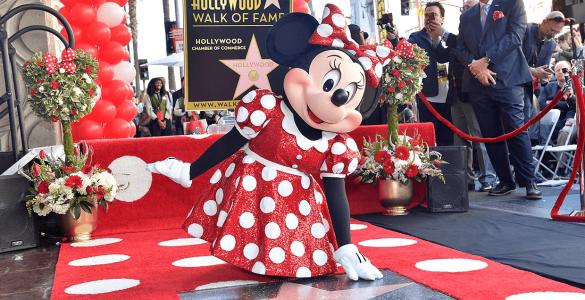 Walk of Fame für Minnie 2