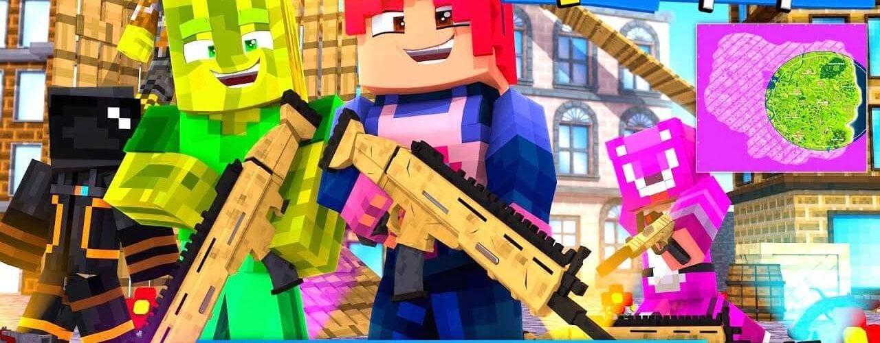 Minecraft Fortnite 1