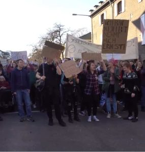 Demonstration gegen Artikel 13 5