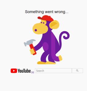 YouTube down, Gmail down und weitere Google Dienste ebenfalls! 1