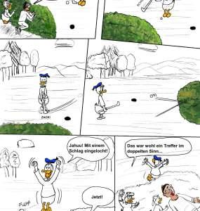 Hinter den Kulissen: Nachruf & Golfball 2