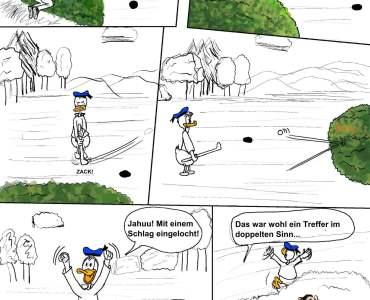 Hinter den Kulissen: Nachruf & Golfball 3