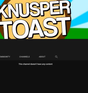 Knuspertoast löscht seine Videos von YouTube, ist das das Ende? 1