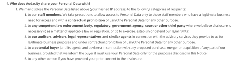 Warnung: Audacity wird zur potenziellen Spionagesoftware 3