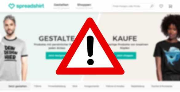 Spreadshop gehackt?: Angreifer haben womöglich Zugriff auf Daten erhalten 2