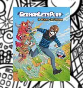 """GermanLetsPlays Buch """"Im Wirbel der Welten"""" erscheint bald 1"""