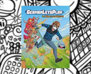 """GermanLetsPlays Buch """"Im Wirbel der Welten"""" erscheint bald 2"""