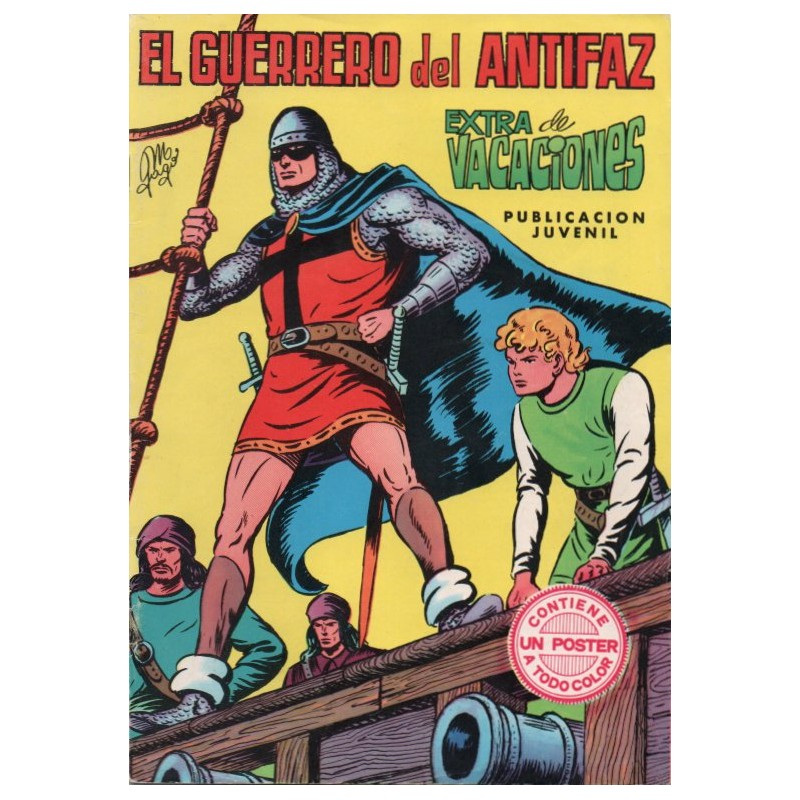 EL GUERRERO DEL ANTIFAZ.VALENCIANA.MANUEL GAGO
