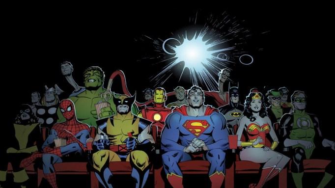 أبطال الكوميكس في السينما