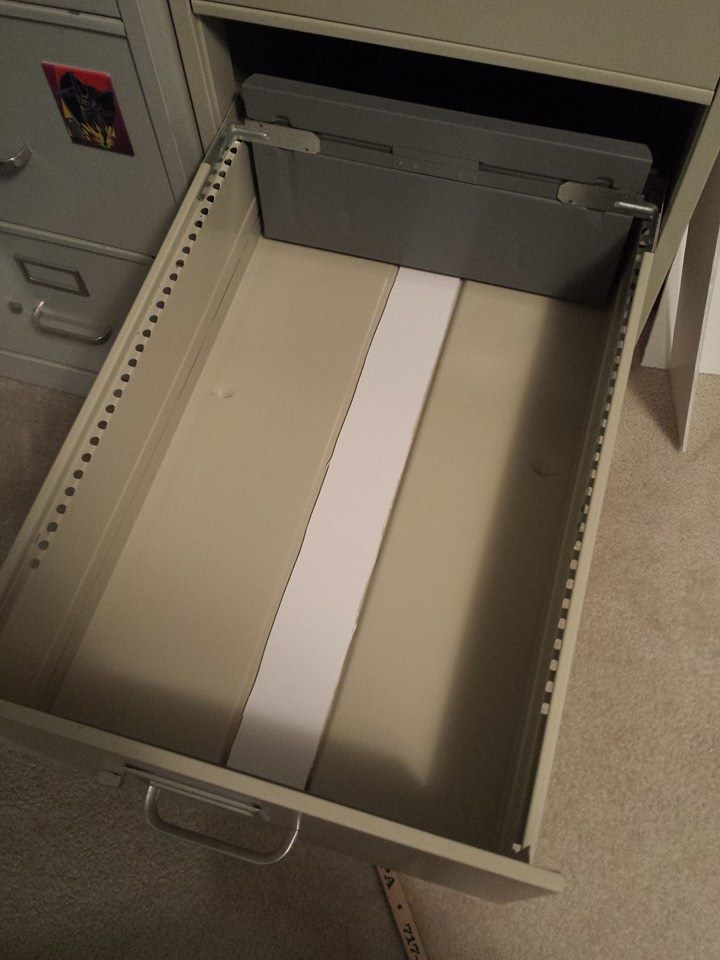 Setting Up Your Comics In Filing Cabinets