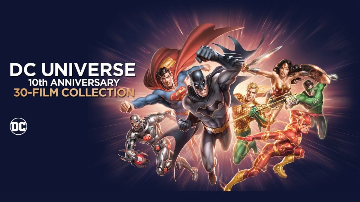 Blu-ray Review: DC Universe 10th Anniversary Collection