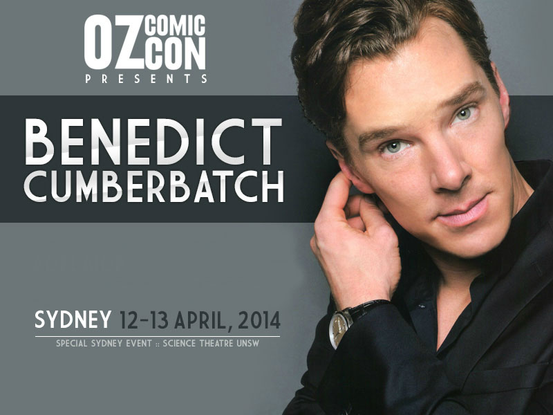 Oz Comic Con Sydney 2014: Q&A with Benedict Cumberbatch